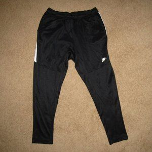 Nike Sportswear Pants Black White Size XL Training